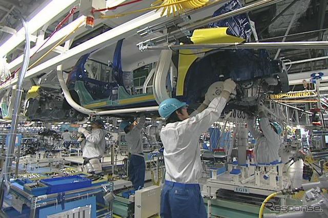 Daihatsu's 2nd Oita plant in Kyushu (reference image)