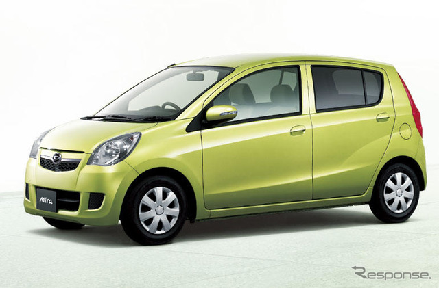 [New announced by Daihatsu Mira] top grade fuel models