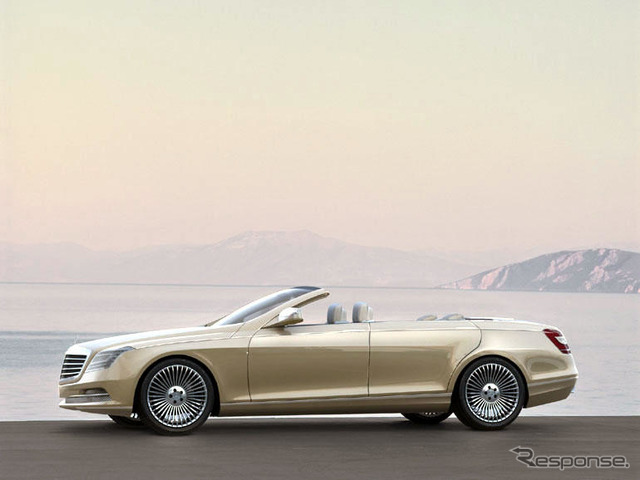 [Detroit Motor Show 07: most elegant convertible... Mercedes