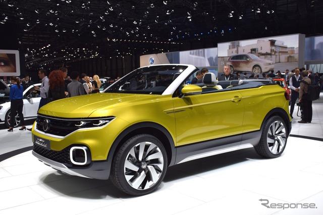 VW T cross-Breeze (16 Geneva Motor Show)