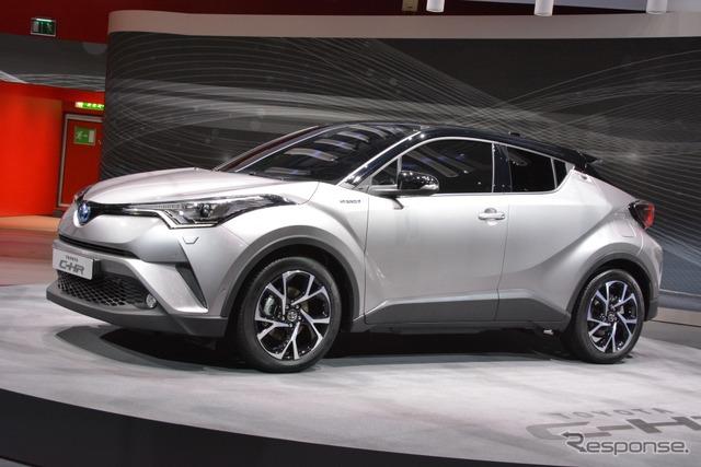Toyota C-HR (2016 Geneva Motor Show)