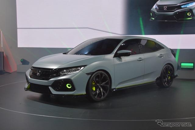 Honda Civic Hatchback Concept (2016 Geneva Motor Show)