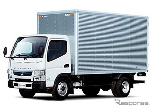 The 2016 Mitsubishi Fuso Canter
