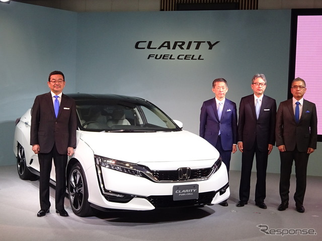 Launching of Honda Clarity Fuel Cell