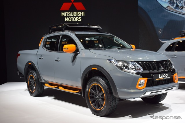 Mitsubishi L200 Geoseek Concept at 2016 Geneva Motor Show