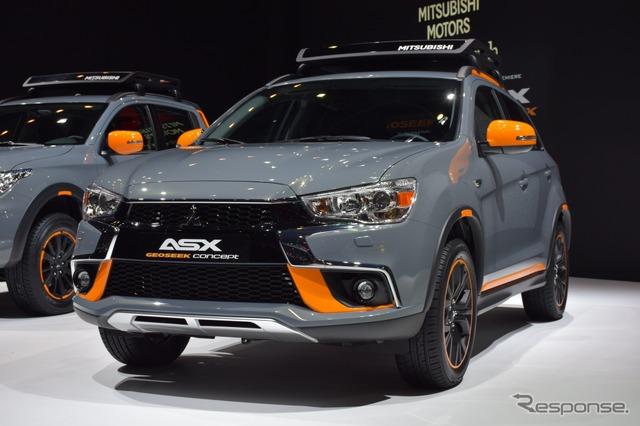 Mitsubishi ASX GEOSEEK Concept (2016 Geneva Motor Show)