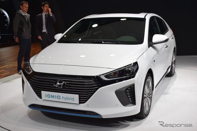 Hyundai Ionic hybrid (Geneva Motor Show 16)