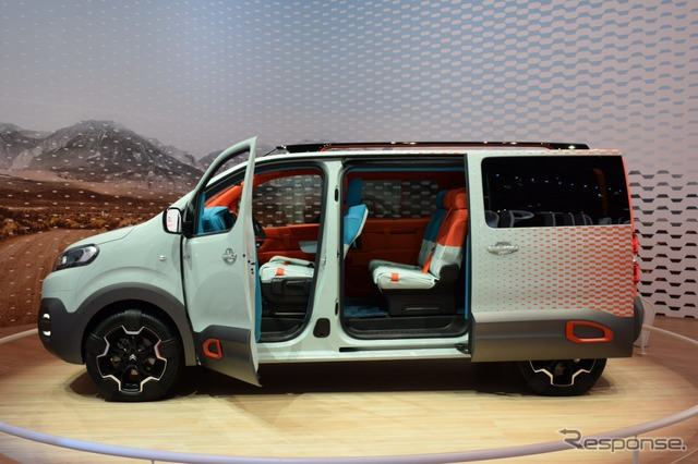 Citroen space tourer hyphen (Geneva Motor Show 16)