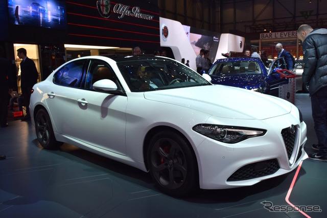 Alfa Romeo Giulia (Geneva Motor Show 16)