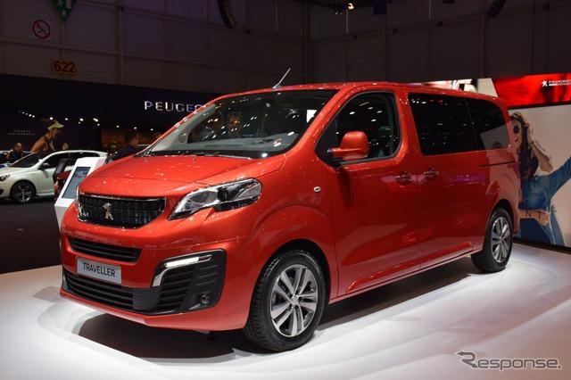 Peugeot traveller (16 Geneva Motor Show)
