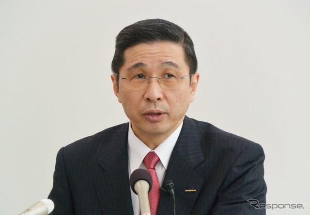 Nissan's CCO Hiroto Nishikawa