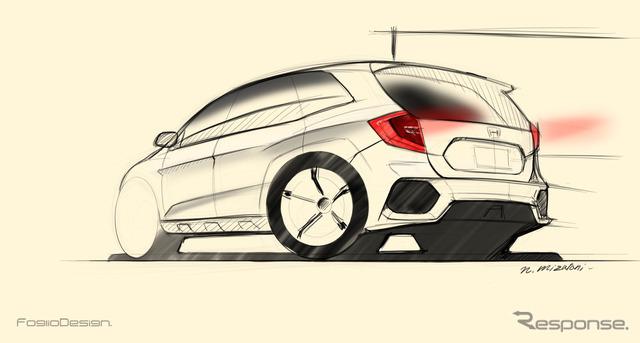 Upcoming Honda CR-V rendered sketch