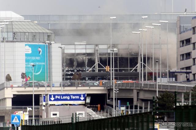 In Belgium, Brussels Airport and Metro's terrorist (3/22)