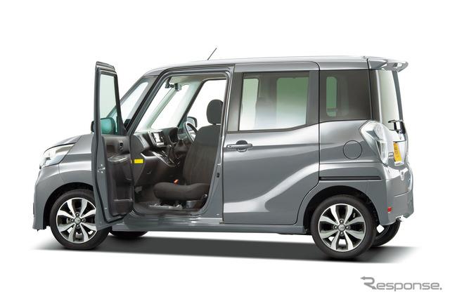 Nissan days Lux Keyaki no Ki passenger seat rotation