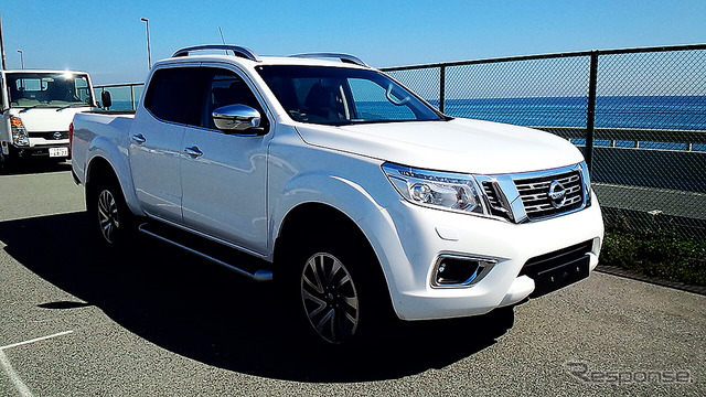 """Sold at Nissan Pickup 12th generation, Europe and Australia """"NP300 NAVARA] (Navarre) At Allstate in March took place in oiso Nissan Nissan light commercial vehicles (LCV) published"""