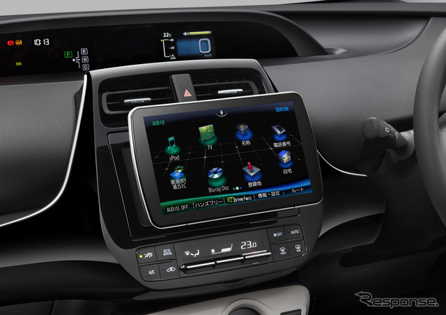 "9 V type SD navigation station new Strada ""CN-F1D""."