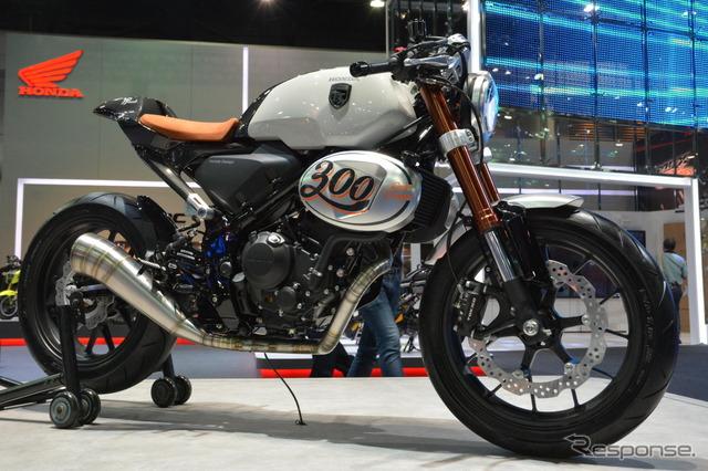 แนวคิดแข่ง TT 300 ฮอนด้า (กรุงเทพมอเตอร์โชว์ 16)