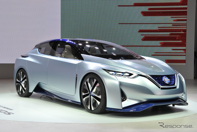 Nissan IDS Concept at 2015 Tokyo Motor Show