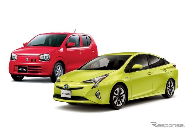 Low mileage top Toyota and Suzuki Alto