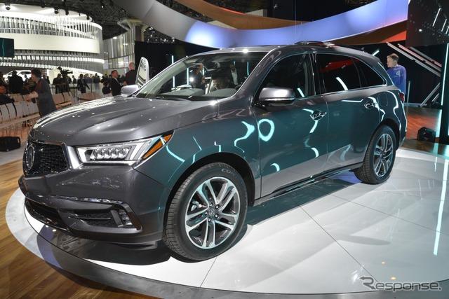 2017 Acura MDX at 2016 New York International Auto Show