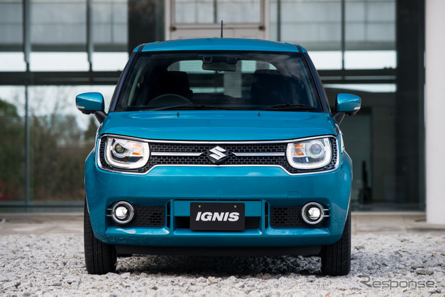 Suzuki Ignis (and per vehicle for shooting some specifications may vary)