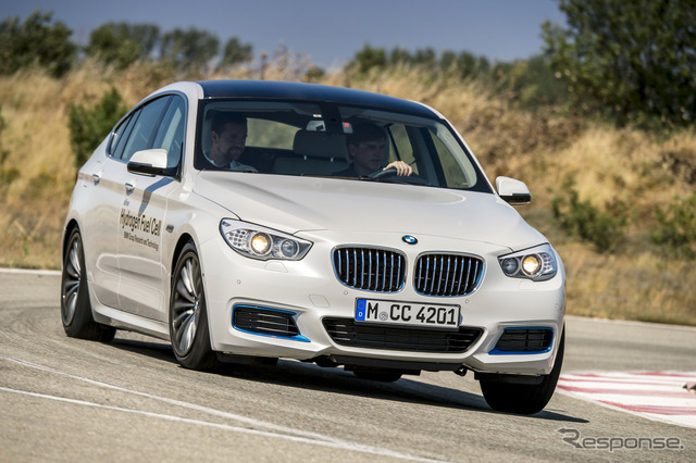 BMW5 series GT fuel cell prototype vehicles