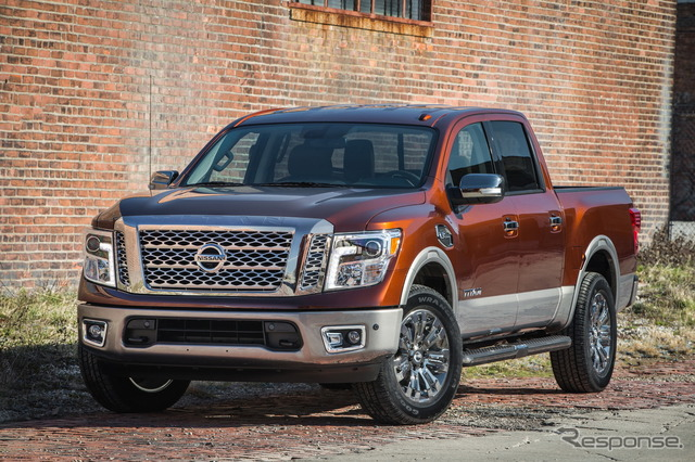 The all-new Nissan Titan Crew Cab