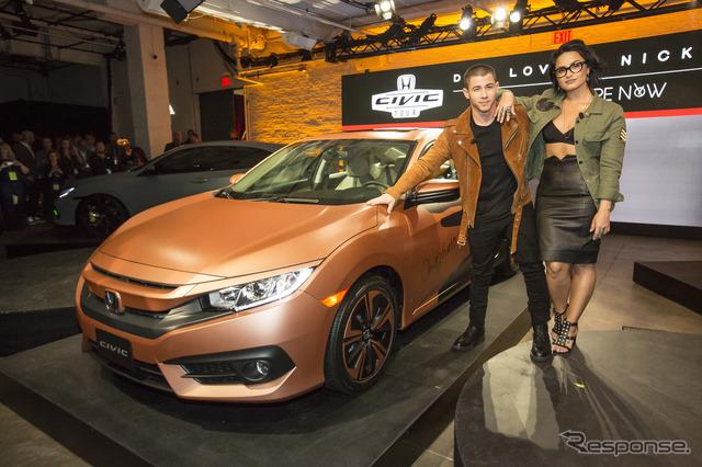 Menyesuaikan baru Honda Civic sedan