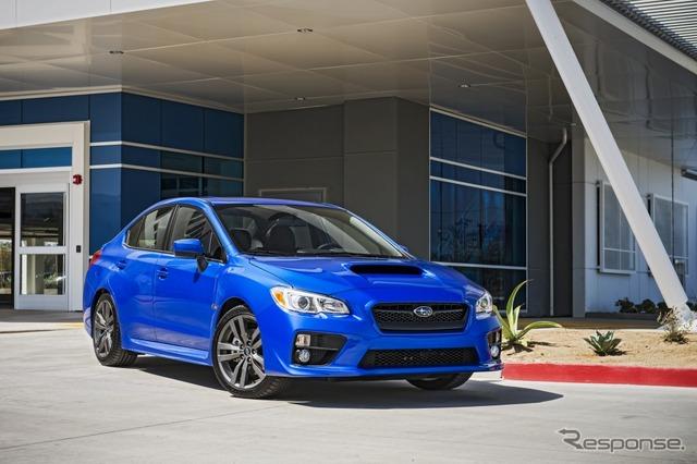 2016 Subaru WRX for the US