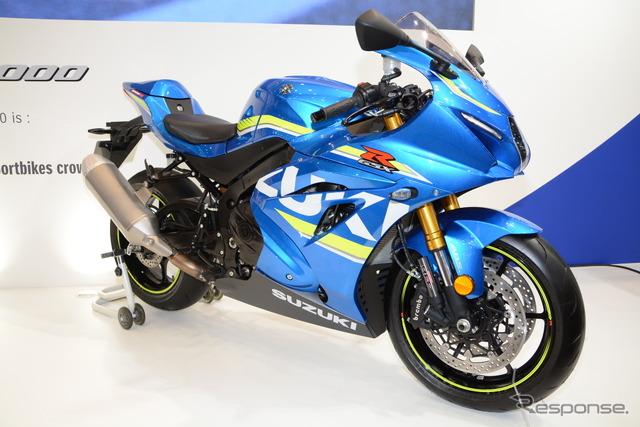 Suzuki GSX-R1000 at the 2016 Tokyo Motorcycle Show