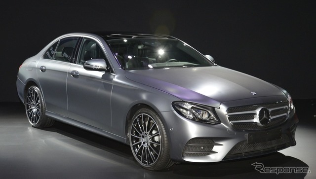 New Mercedes E-Class sedan E220d