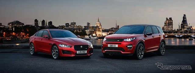 Jaguar XE and discovery sport