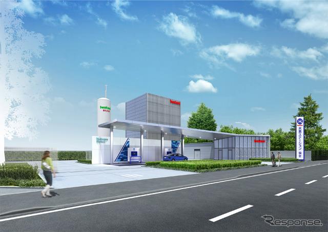 Sendai Iwatani hydrogen station
