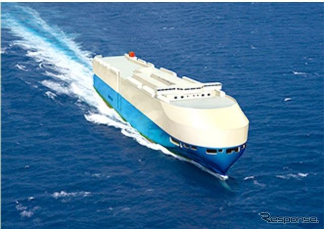 """Next-generation car carrier """"FLEXIE"""" (image)"""