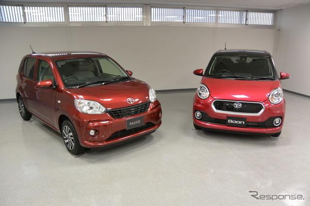 New Toyota Passo / Daihatsu boon