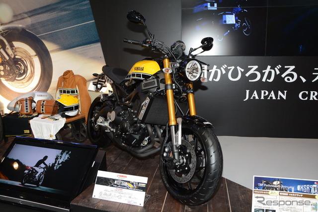Yamaha XSR900 60th Anniversary at 2016 Tokyo Motorcycle Show