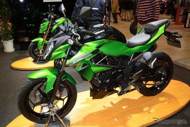 Kawasaki Z250SL (Tokyo motorcycle show 16)
