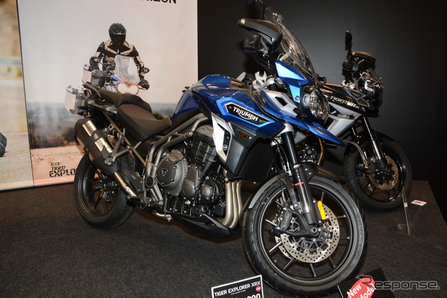 Triumph Tiger exp the XRX (Tokyo motorcycle show 16)