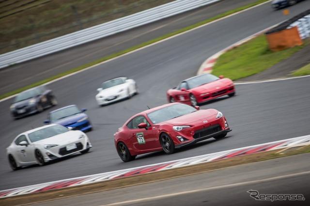 NAPAC driving in Fuji (last appearance)