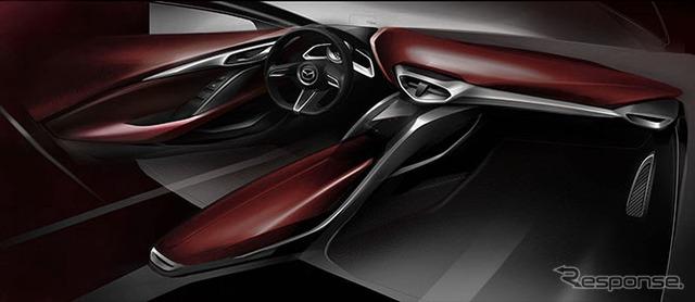 Mazda CX-4 sketch