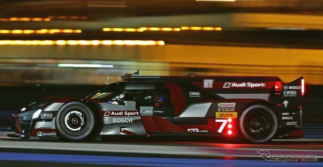Audi's no. 7 car