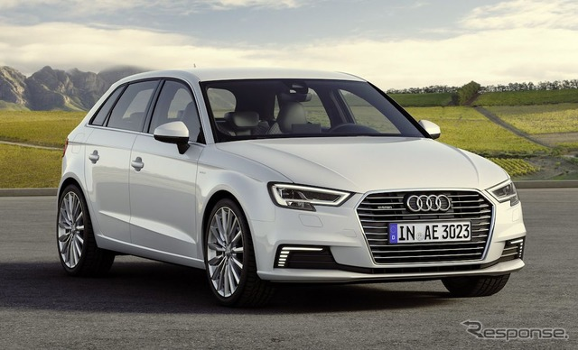Improved new Audi A3 Sportback e Tron