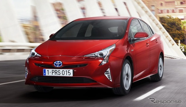 European specifications for the new Toyota Prius