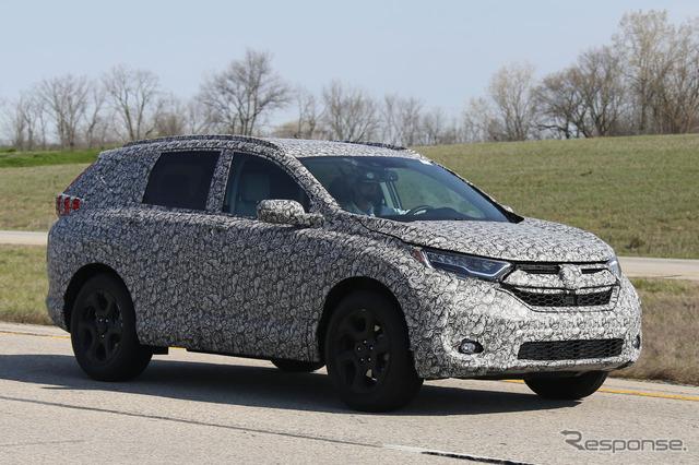 Next-gen Honda CR-V scoop image