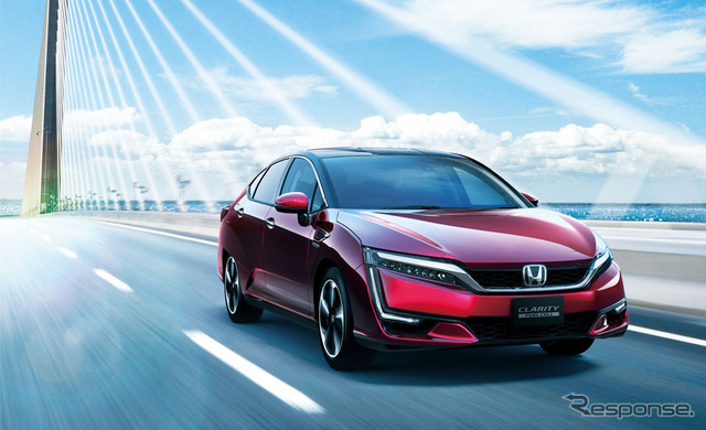 Honda clarity fuel cell (the reference image)