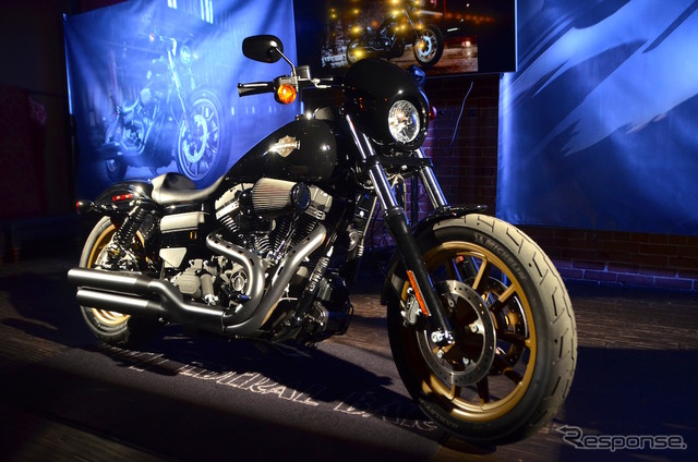 Harley-Davidson was done in a Hollywood Club Press Conference