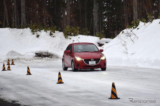 Mazda i-ACTIV AWD test drive experience