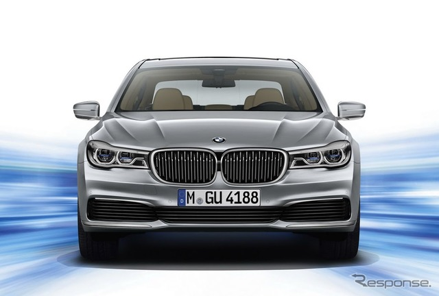 PHV is set in the new BMW 7 series 740 Le