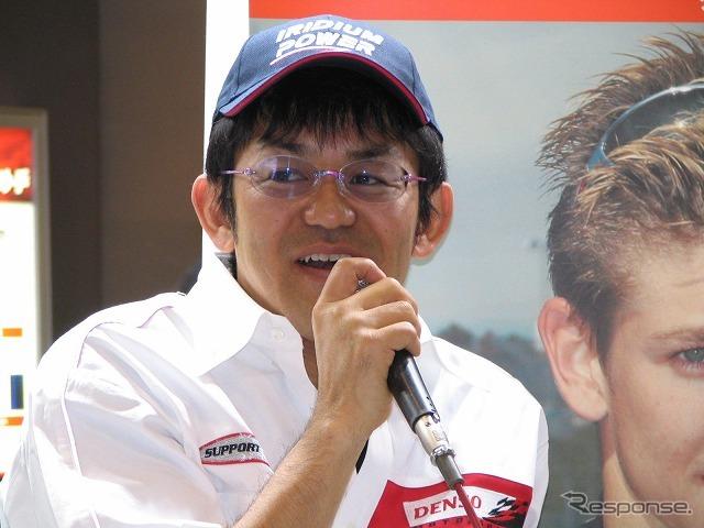 Team frontier Noboru Ueda