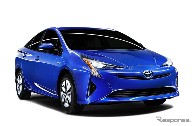 The all-new Toyota Prius (North American model)